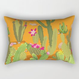 Cactus Variety 5 Rectangular Pillow