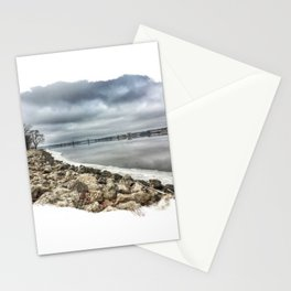 Mississippi River - Illinois Stationery Cards