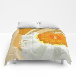 Apocopation Concord Flowers  ID:16165-104553-87970 Comforters