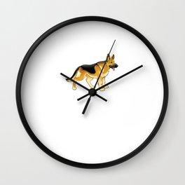 German Shepherd Engineering: Home Security System Wall Clock