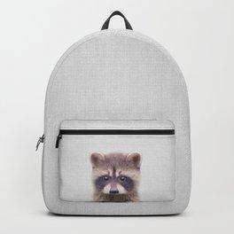 Raccoon - Colorful Backpack