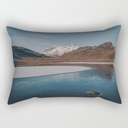 Frozen Blea Tarn Rectangular Pillow
