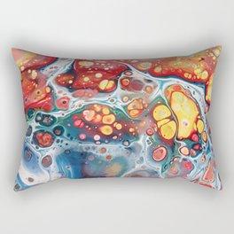 Turquiose marble Rectangular Pillow
