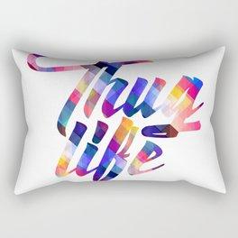 Cool Thug Life Design Rectangular Pillow
