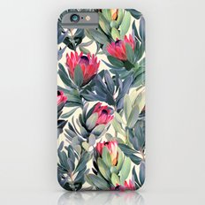 Painted Protea Pattern Slim Case iPhone 6