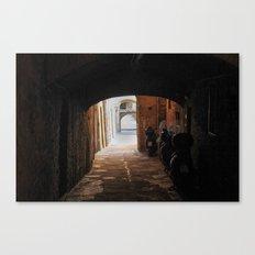 Italian Alleyway Canvas Print