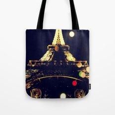 Paris by night Tote Bag