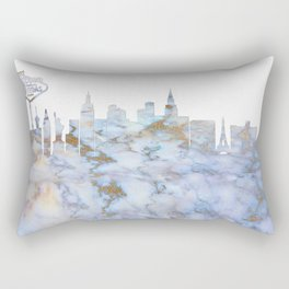 Las Vegas Skyline Nevada Rectangular Pillow