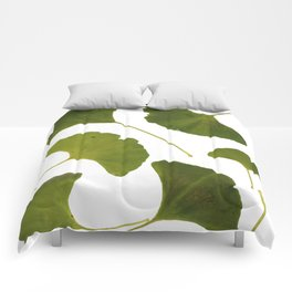 Fall Ginko Leaf Collection Comforters