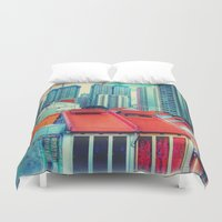 brussels Duvet Covers featuring Brussels or some tracks near there by thejennii
