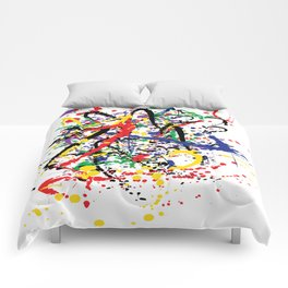 Pollock Remembered by Kathy Morton Stanion Comforters