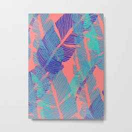 Carved Fluo Jungle #society6 #decor #buyart Metal Print