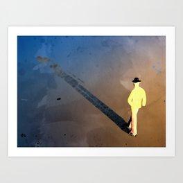 The Long Shadow Art Print
