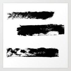 Brush 02 Art Print