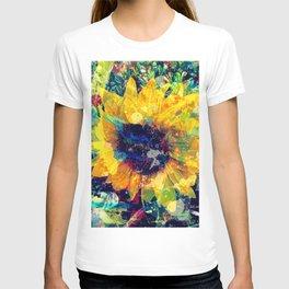 Sunflower Batik T-shirt