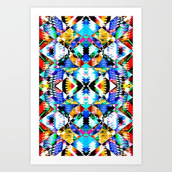 HALBACH ARRAY Art Print