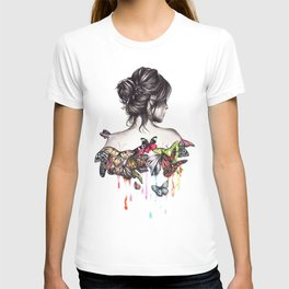 Butterfly Woman T-shirt