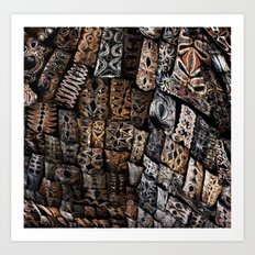 Viking Tribal Art Print