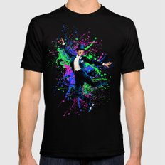 Astaire Fred, still dancing. 2X-LARGE Black Mens Fitted Tee
