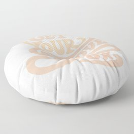 Get your groove on Floor Pillow