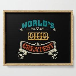 WORLDS GREATEST DDD Serving Tray