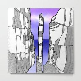 The Totem Pole Metal Print