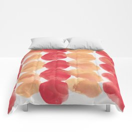 4  | 190408 Red Abstract Watercolour Comforters
