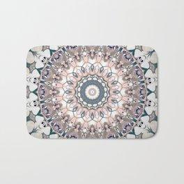 Pastel Boho Chic Mandala Design Badematte