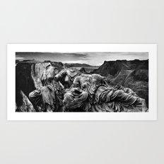 Canyon Graces Art Print