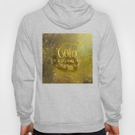 GOLD for a bride in her wedding gown. Shadowhunter Children's Rhyme. Hoody