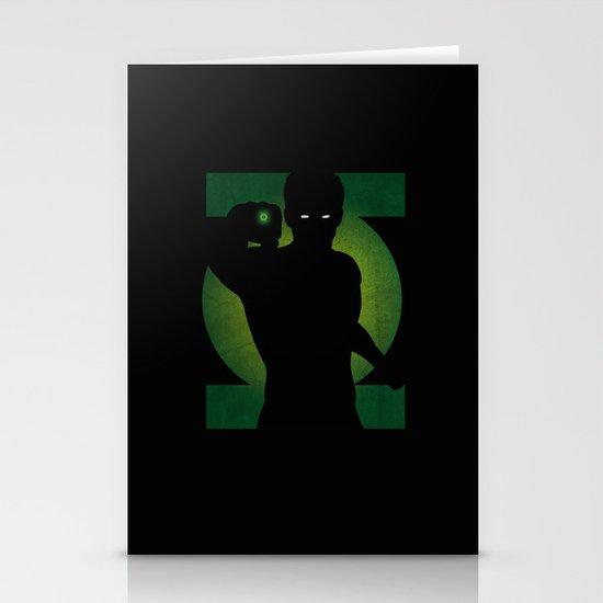 SuperHeroes Shadows : Green Lantern Stationery Cards