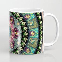 Avocado Yoga Medallion Coffee Mug
