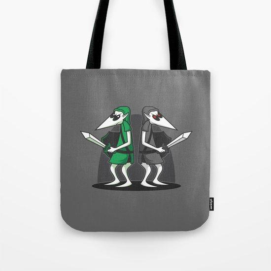 Link Vs Link Tote Bag