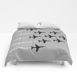Red Arrows Comforters