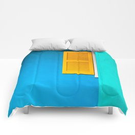 Folly Blues Comforters