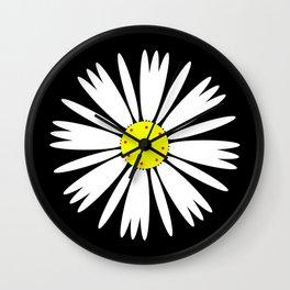 Daisy Design Flower Wall Clock