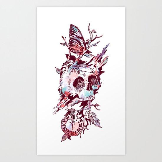 Mors et Natura 2.0 Art Print