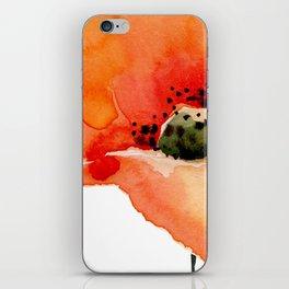 Poppy iPhone Skin