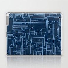 Electropattern (Blue) Laptop & iPad Skin