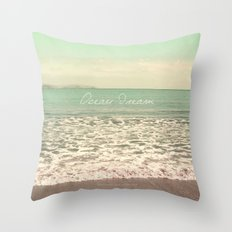 Ocean Dream I Throw Pillow