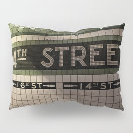 14th Street Station Pillow Sham