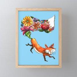 Hunt Flowers Not Foxes Three Framed Mini Art Print