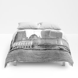 City Of London Art Comforters
