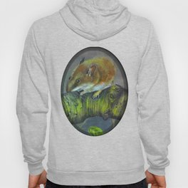 Field mouse illustration Hoody