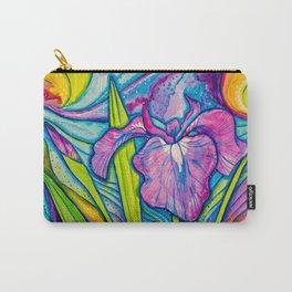 Wild Alaskan Iris Carry-All Pouch