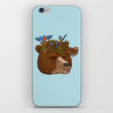 Mr Bear's Nature Hat 2017 iPhone & iPod Skin