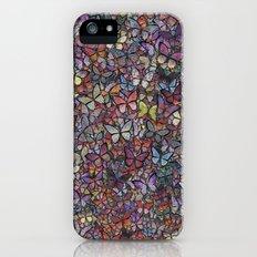 butterfly kaleidoscope Slim Case iPhone (5, 5s)