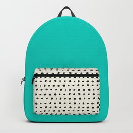 Aqua x Dots Backpack