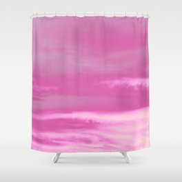 Pink Summer Vibes #1 #decor #art #society6 Shower Curtain