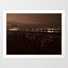 Thames Crossing - Woolwich Ferry Art Print